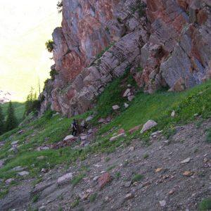 Ammonit - Karwendel-Exkursion am frühen Morgen (2)